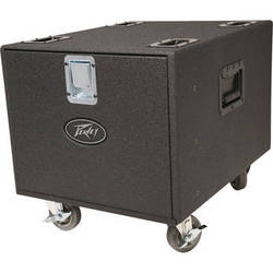 Peavey 12 RU Space Premium Rack Case (with Locking Casters)