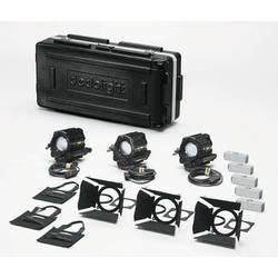 Dedolight K3x650 Basic 650W Tungsten 3-Light Kit (120VAC)