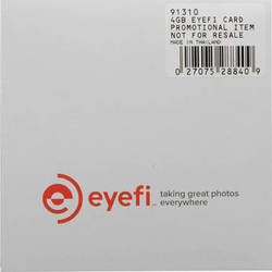 Pentax Eye-Fi 4GB SDHC Mobi Wireless Memory Card