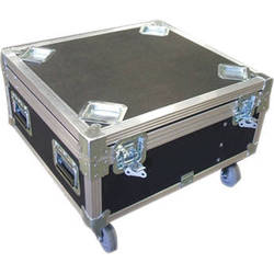 NEC ATA Shipping Case With Extension Handle and Wheels
