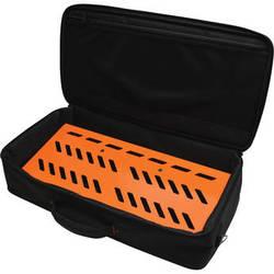 Gator Cases Aluminum Pedalboard with Carry Case (Orange, Large)