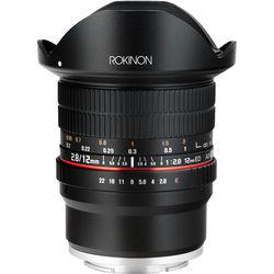 Rokinon 12mm f/2.8 ED AS IF NCS UMC Fisheye Lens for Sony E-Mount