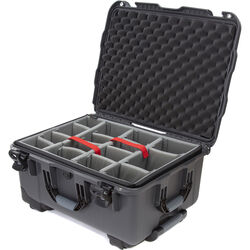 Nanuk 950 Protective Rolling Case with Foam Dividers (Graphite)