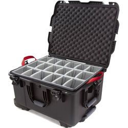Nanuk 960 Protective Rolling Case with Foam Dividers (Black)