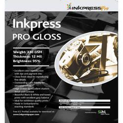 "Inkpress Media Pro Glossy Paper (17 x 22"", 25 Sheets)"