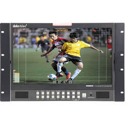 "Datavideo TLM-170GR 17.3"" 3G-SDI & HDMI TFT LCD Monitor - 7RU Rackmount Unit"