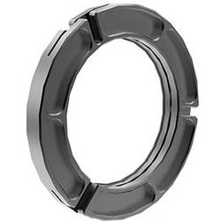 """Bright Tangerine 150 to 104mm Clamp-On Ring for Viv & Viv 5"""""""