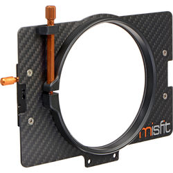 Bright Tangerine 110mm Clamp Lens Attachment for Misfit Matte Box