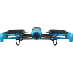 Parrot BeBop Drone Quadcopter with 14-Megapixel Flight Camera (Blue)