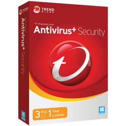Trend Micro Titanium Antivirus + Security 2014 (3-PCs, 1-Year License, Download)