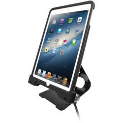 CTA Digital Anti-Theft Security Case with Stand for iPad Air and iPad Air 2