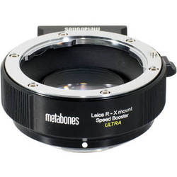 Metabones Leica R Lens to Fujifilm X-Mount Camera Speed Booster ULTRA