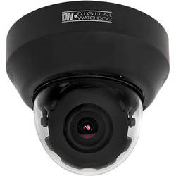 Digital Watchdog MEGApix DWC-MD421D 2.1MP Snapit Triple Codec Indoor IP Dome Camera (NTSC, Black)