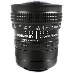 Lensbaby 5.8mm f/3.5 Circular Fisheye Lens for Samsung NX