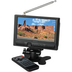 "Delvcam DELV-7XLPRO-ATSC 7"" LCD Monitor with Built-in ATSC & NTSC TV Tuner"