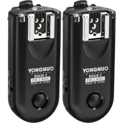 Yongnuo RF-603N II Wireless Flash Trigger Kit for Nikon DC2 Connection