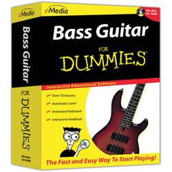 eMedia Music Bass Guitar For Dummies - Beginner Bass Guitar Lessons for Windows (Download)