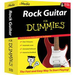 eMedia Music Rock Guitar For Dummies v2 (Electronic Download, Mac)