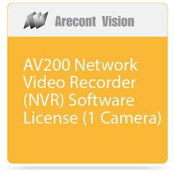 Arecont Vision AV200 Network Video Recorder (NVR) Software License (1 Camera)