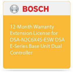 Bosch 12-Month Warranty Extension License for DSA-N2C6X4S-ESW DSA E-Series Base Unit Dual Controller
