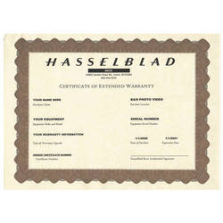 Hasselblad 2-Year Extended Warranty for CFV-50
