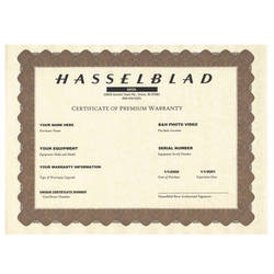 Hasselblad 3-Year Premium Warranty for H4D-50