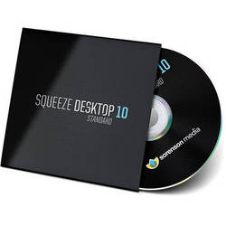 Sorenson Media Squeeze Desktop 10 Standard Upgrade from Squeeze 9 Lite (Download)