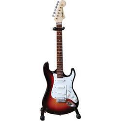AXE HEAVEN Miniature Fender Stratocaster Guitar Replica (Classic Sunburst)