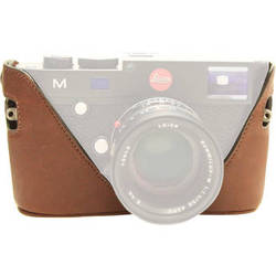 Black Label Bag Half Case for Leica M Type 240 and M-P Cameras (Brown)