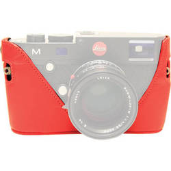 Black Label Bag Half Case for Leica M Type 240 and M-P Cameras (Red)