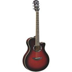 Yamaha APX500III Thinline Acoustic/Electric Cutaway Guitar (Dusk Sun Red)