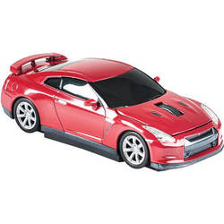 Automouse Nissan GTR (R35) 2.4 GHz Wireless Mouse (Red)