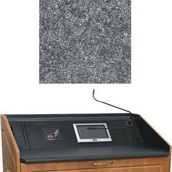 """Middle Atlantic L5 Turret Lectern Wood Finishing Kit for Presenter's Panel Frame (Traditional, Graystone, 43"""" width)"""