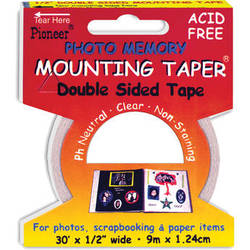 """Pioneer Photo Albums MMT9 Photo Memory Mounting Tape (0.5"""" x 30')"""