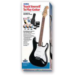 ALFRED Teach Yourself To Play Electric Guitar Starter Pack - Firebrand Electric Guitar, 10-Watt Amp & Instructional Course