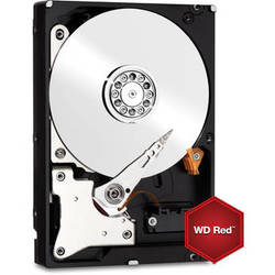 WD 6TB Network HDD Retail Kit (WD60EFRX, Red Drive, 4-Pack)