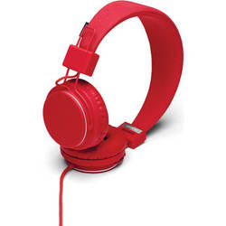Urbanears Plattan On-Ear Headphones (Tomato)