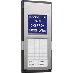 Sony 64GB SxS PRO+ C Series Memory Card
