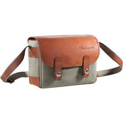 Oberwerth Freiburg Small Camera Bag (Olive/Light Brown)