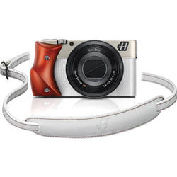 Hasselblad Stellar Special Edition Digital Camera (White/Padouk, White/Red Strap)