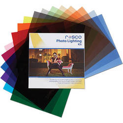 "Rosco Photo Lighting Filter Kit (12 x 12"")"