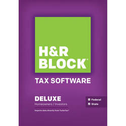 H&R Block 14 Deluxe + State (Download, Windows)