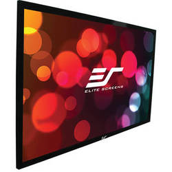 """Elite Screens R120WH2 ezFrame 2 58.7 x 104.7"""" Fixed Frame Projection Screen"""
