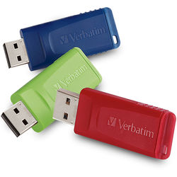 Verbatim 4GB Store 'n' Go USB Flash Drive (3-Pack)