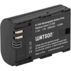 Watson LP-E6N Lithium-Ion Battery Pack (7.4V, 2000mAh)