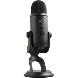 Blue Yeti USB Microphone (Blackout)