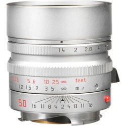 Leica Normal 50mm f/1.4 Summilux M Aspherical Manual Focus Lens (6-Bit)