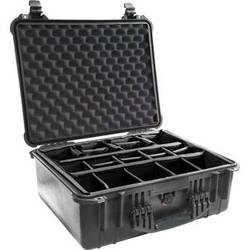Pelican 1554 Waterproof 1550 Case with Dividers (Black)