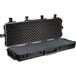 Pelican 472-PWC-M16 iM3200 Hard Case for One AR15 Type Rifle (Black)