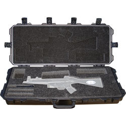 Pelican 472-PWC-MP5 Hard Rifle Case for MP5 Rifle (Black)